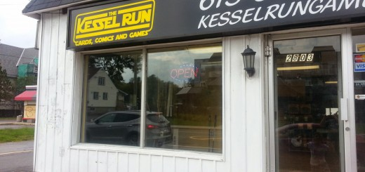 The Kessel Run storefront.