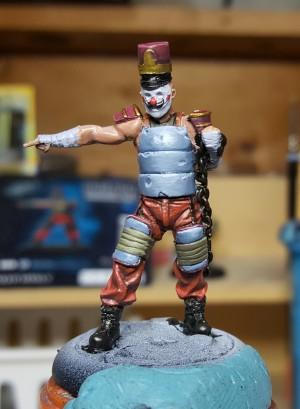 Armoured Clown from Batman Miniature Game