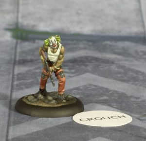 Batman Miniature Game Paper Token Example