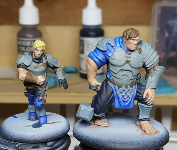 Guild Ball Masons Flint and Brink by Steamforged Games.