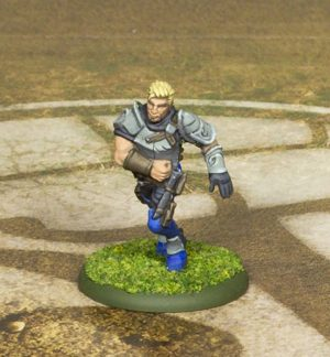 Guild Ball Mason Flint by Steamforged Games.